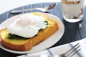 Basic poached egg