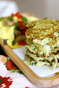 Potato pancakes (rosti)